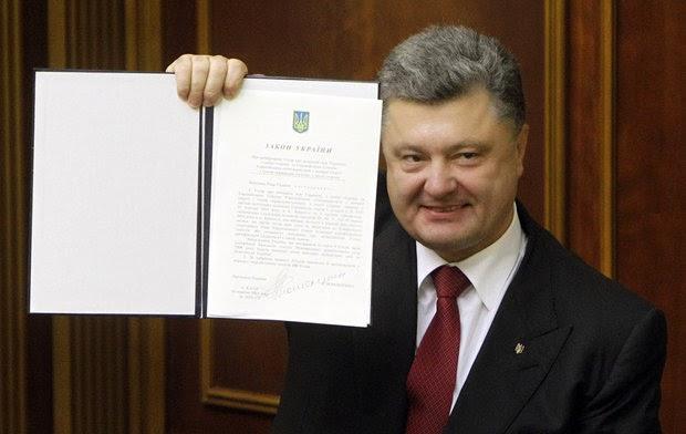 Верховная Рада одновременно с Европарламентом ратифицировала соглашение об ассоциации с ЕС