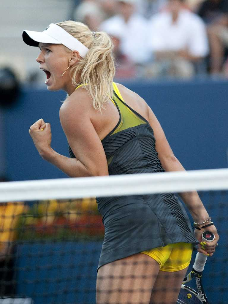 33+ Caroline Wozniacki Hottest Upskirt Moment in US Open