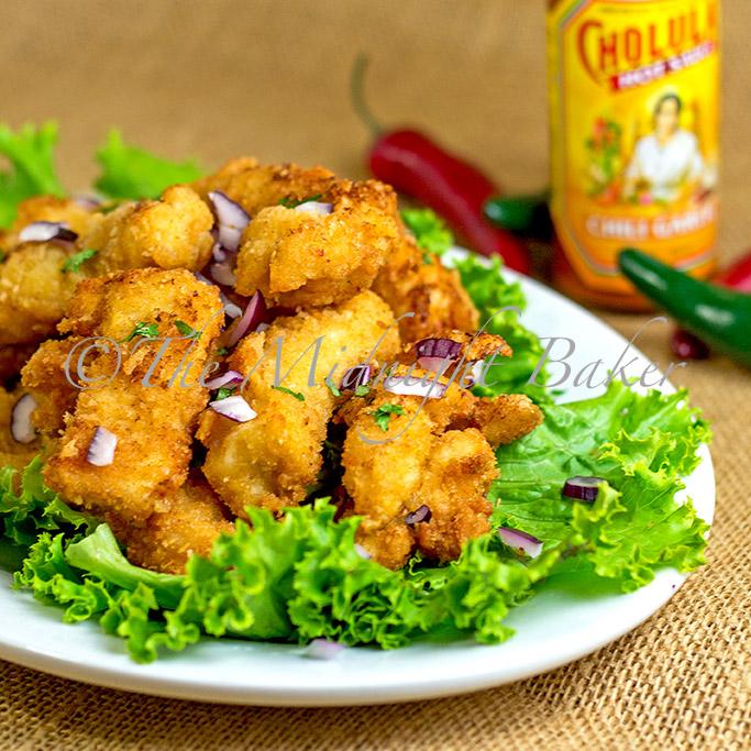 Garlic chicken strips recipe