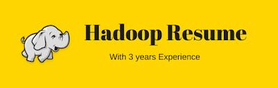 hadoop resume sample resume of hadoop developer with 3 years experience