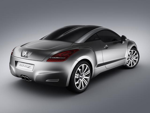 Picture of Peugeot RCZ concept