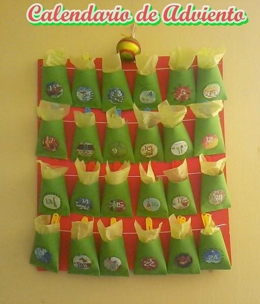 Calendario de Adviento Navidad Advent Calendar