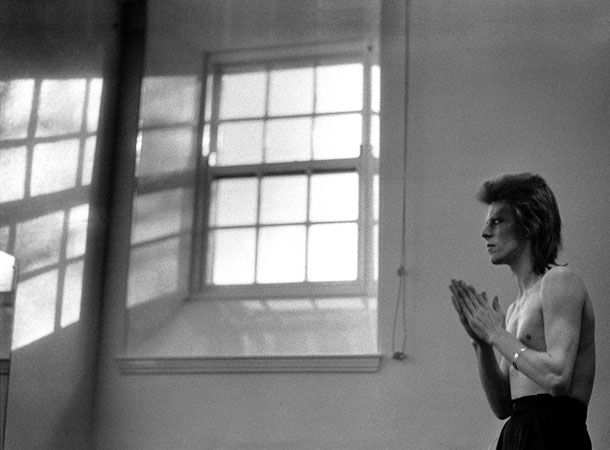 David Bowie photographié par Mick Rock