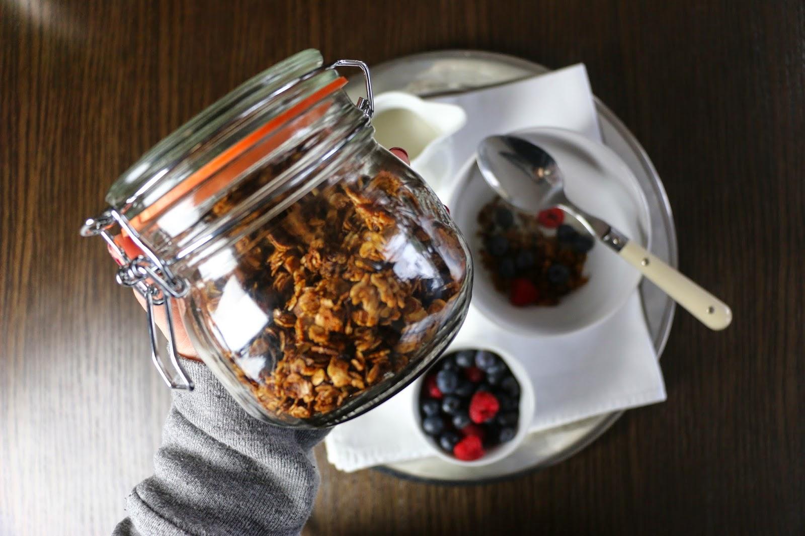Gluten Free Cinnamon Granola