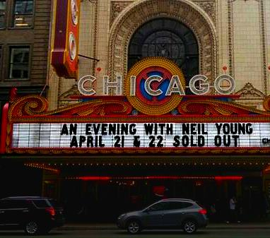 Neil Young at Chicago Theatre