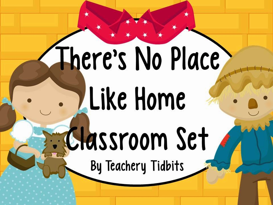 http://www.teacherspayteachers.com/Product/No-Place-Like-Home-An-Oz-Themed-Classroom-Set-EDITABLE-1291791