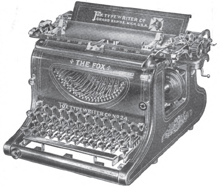 a history of the use and demise of the typewriter A brief history of the typewriter an improved prototype by sholes still sits in the smithsonian's national museum of american history but capped the end.