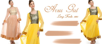 Arzu Gul Long Ethnic Frock Dresses 2013 Clothing9Store