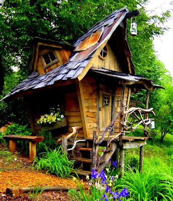 The Flying Tortoise Gorgeous Tiny Whimsical Houses