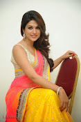 Shraddha das photos in Saree at Rey audio launch-thumbnail-5