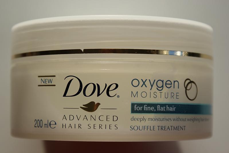 Dove Oxygen & Moisture, Lekki suflet do włosów