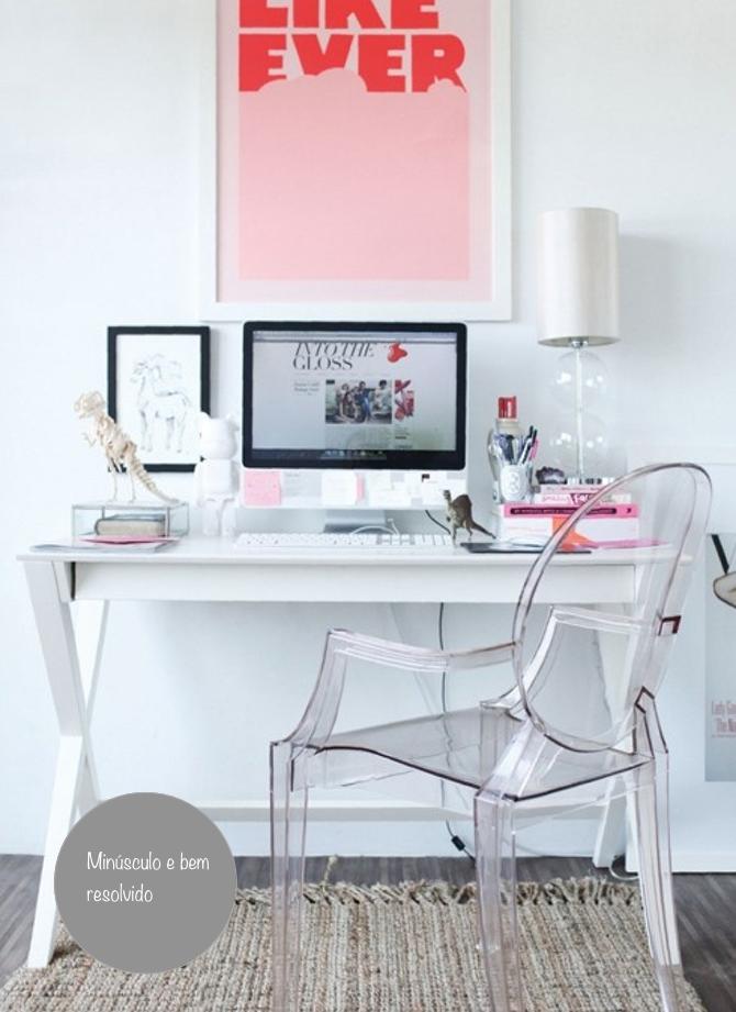 home office-pequenos espaços