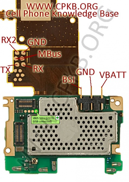 Pin-out For Nokia X3-02 RM-639 Universal Cable.