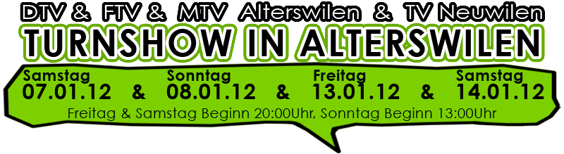 Turnshow in Alterswilen