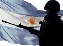 soldado en las Malvinas Argentinas