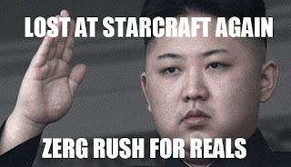 Lost at Starcraft again. Zerg Rush for reals.