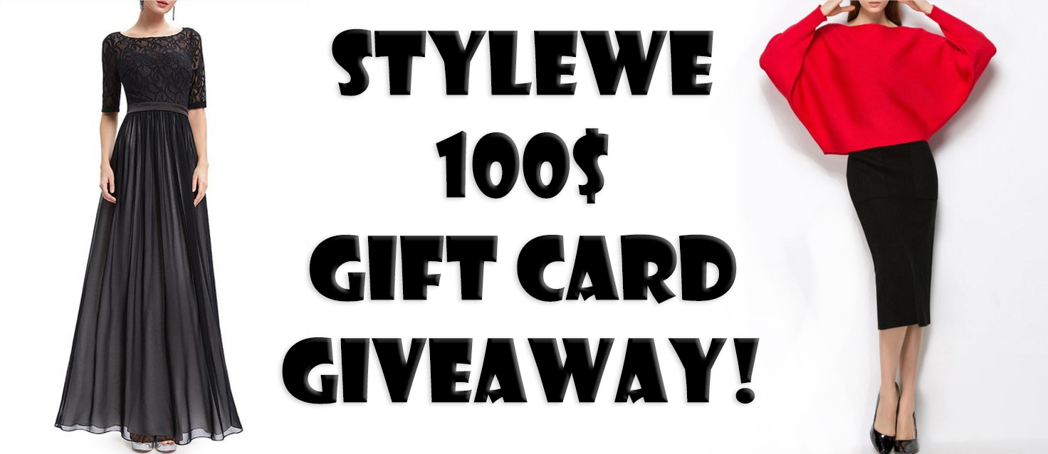 WIN A 100$ STYLEWE GIFT CARD!