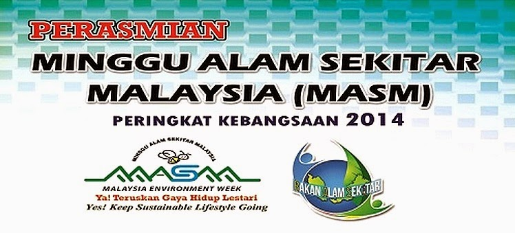 Perasmian Minggu Alam Sekitar Malaysia (MASM) 2014