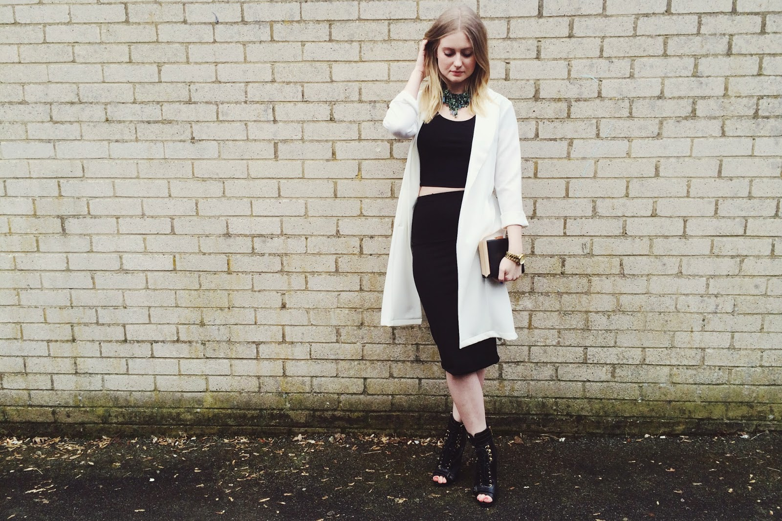FashionFake, UK fashion blog, monochrome trend, spring 2015 fashion