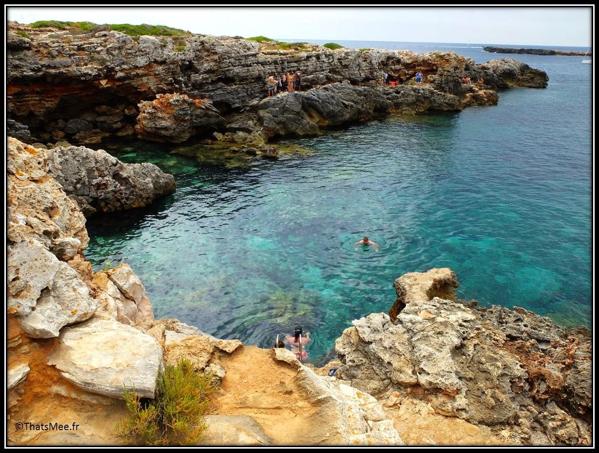 Crique de Binibeca Vell Minorque menorca Mediterranee Binibequer