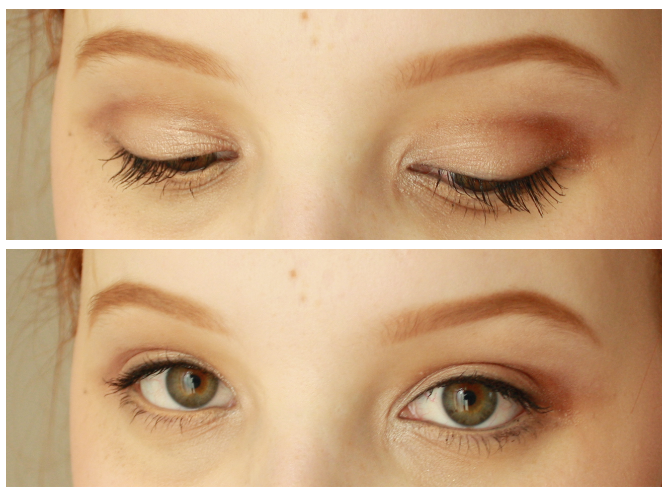 How to do eye makeup with just eyeliner