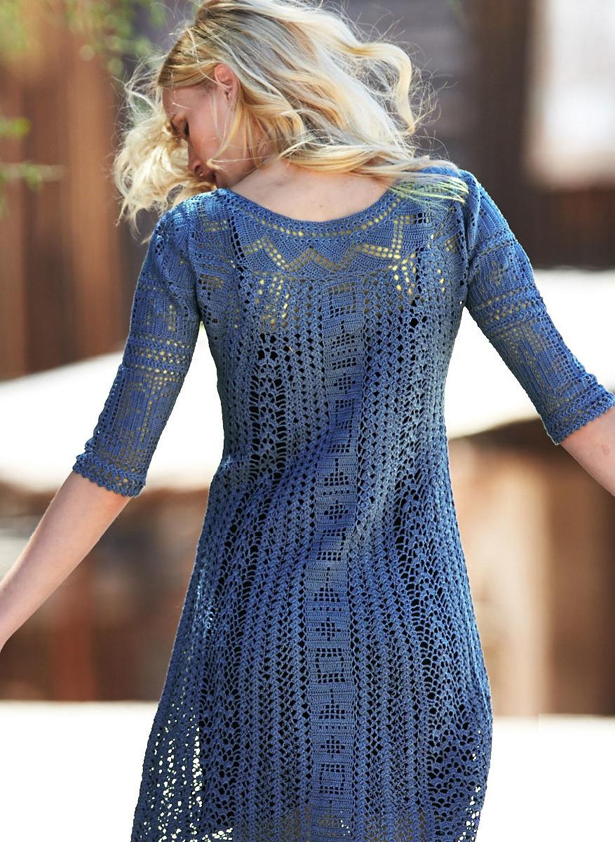 Клуб осинка вязание крючком платья