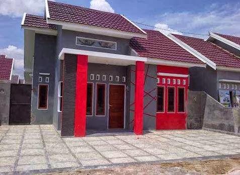 desain rumah bedeng minimalis modern terbaru