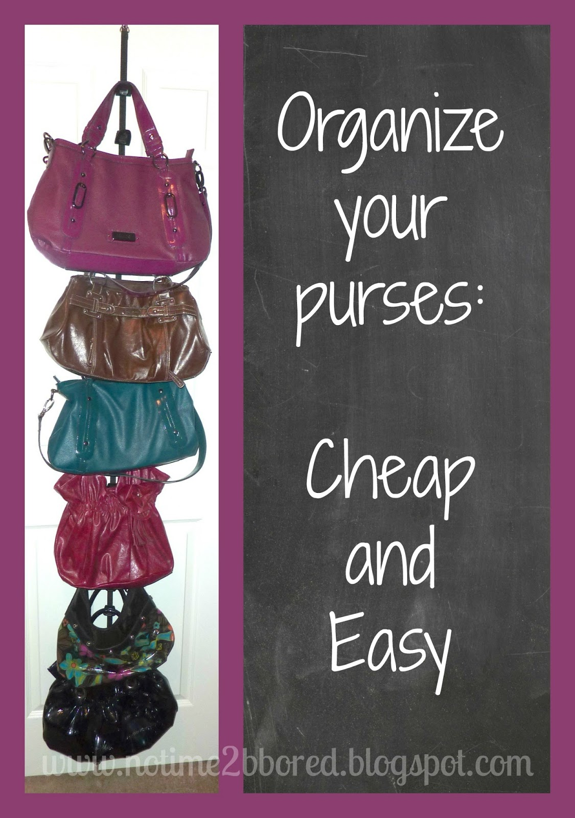 Great How To Organize Your Purses In Closet