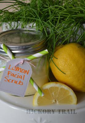 Homemade Lemon Scrub