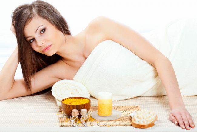 scrub anticellulite fai da te, pompelmo, limone olio essenziale pompelmo