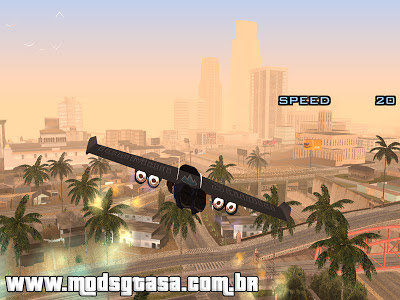 Jet Wing Mod Final para GTA San Andreas