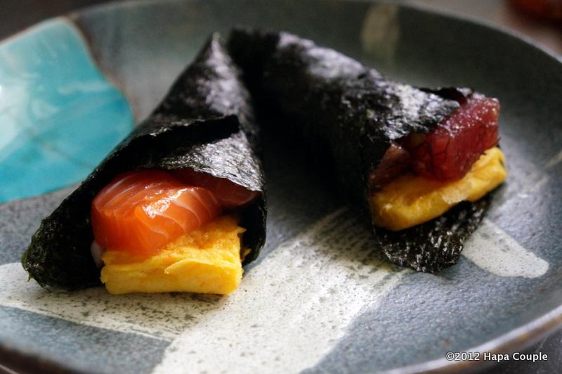 Dukan-ing in Hawaii: Dukan Riceless Temaki (Sushi Handrolls)