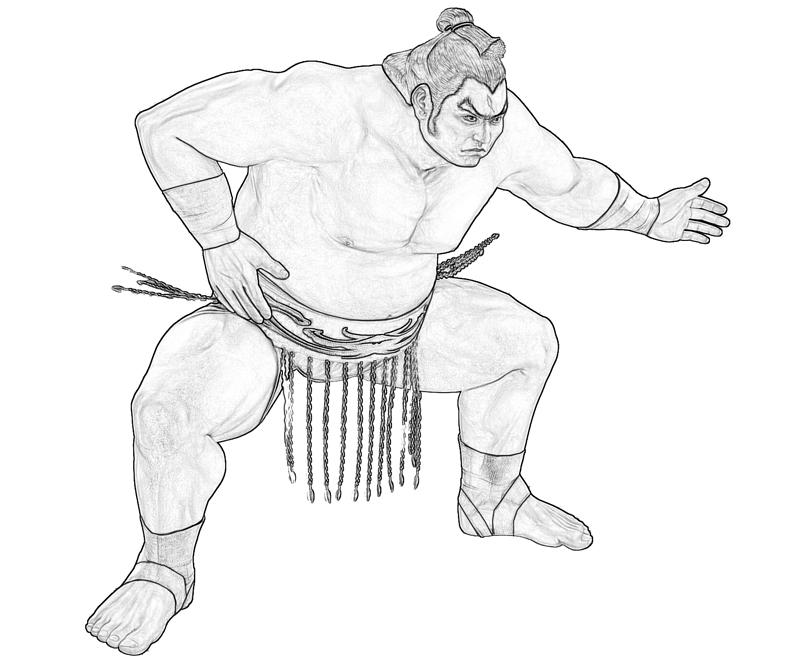 ganryu-sumo-coloring-pages