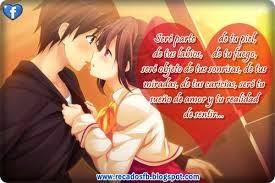 Imágenes bonitas y tiernas  de amor con frases de amor