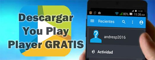 descargar you TV Player Gratis y su APK