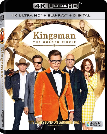 Kingsman: The Golden Circle 4K (Kingsman: El Círculo de Oro 4K) (2017) 2160p 4K UltraHD HDR BluRay REMUX 46GB mkv Dual Audio Dolby TrueHD ATMOS 7.1 ch