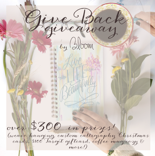 http://www.bloomtheblog.com/2014/11/the-giveaway-that-gives-back.html