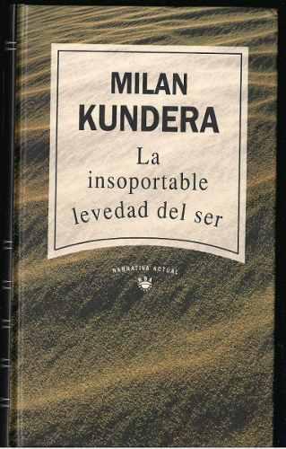 La Pluma Libros  La Insoportable Levedad Del Ser