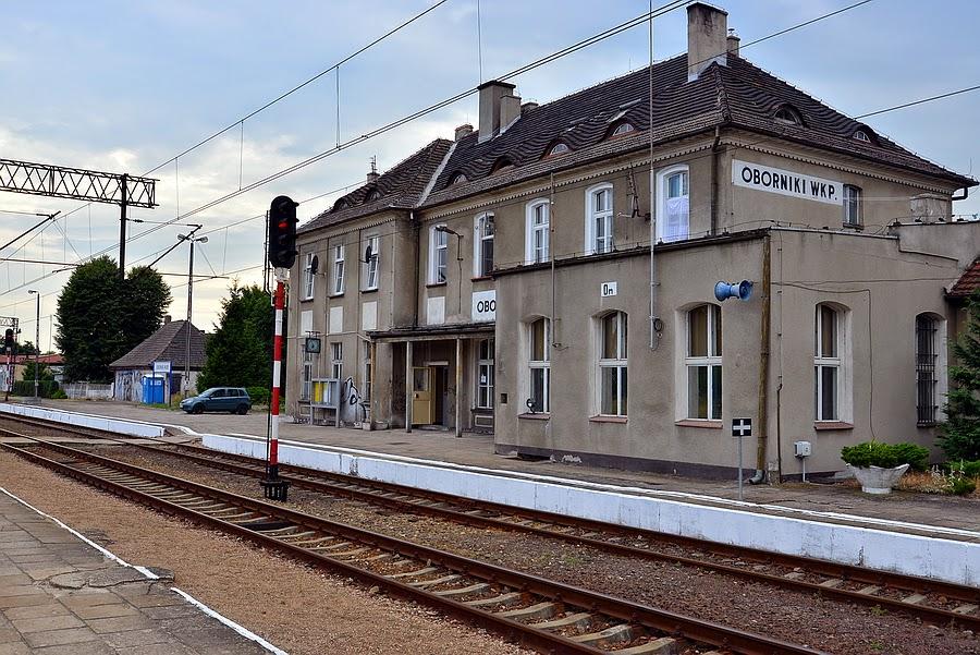Dworzec Kolejowy Pkp Oborniki Wlkp