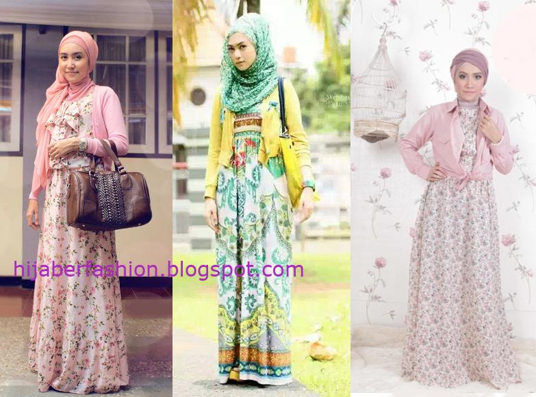 Ide Gaya Busana Vintage Wanita Muslimah Terbaru 2014 Kumpulan Foto Cewek Cantik Berjilbab Terbaru