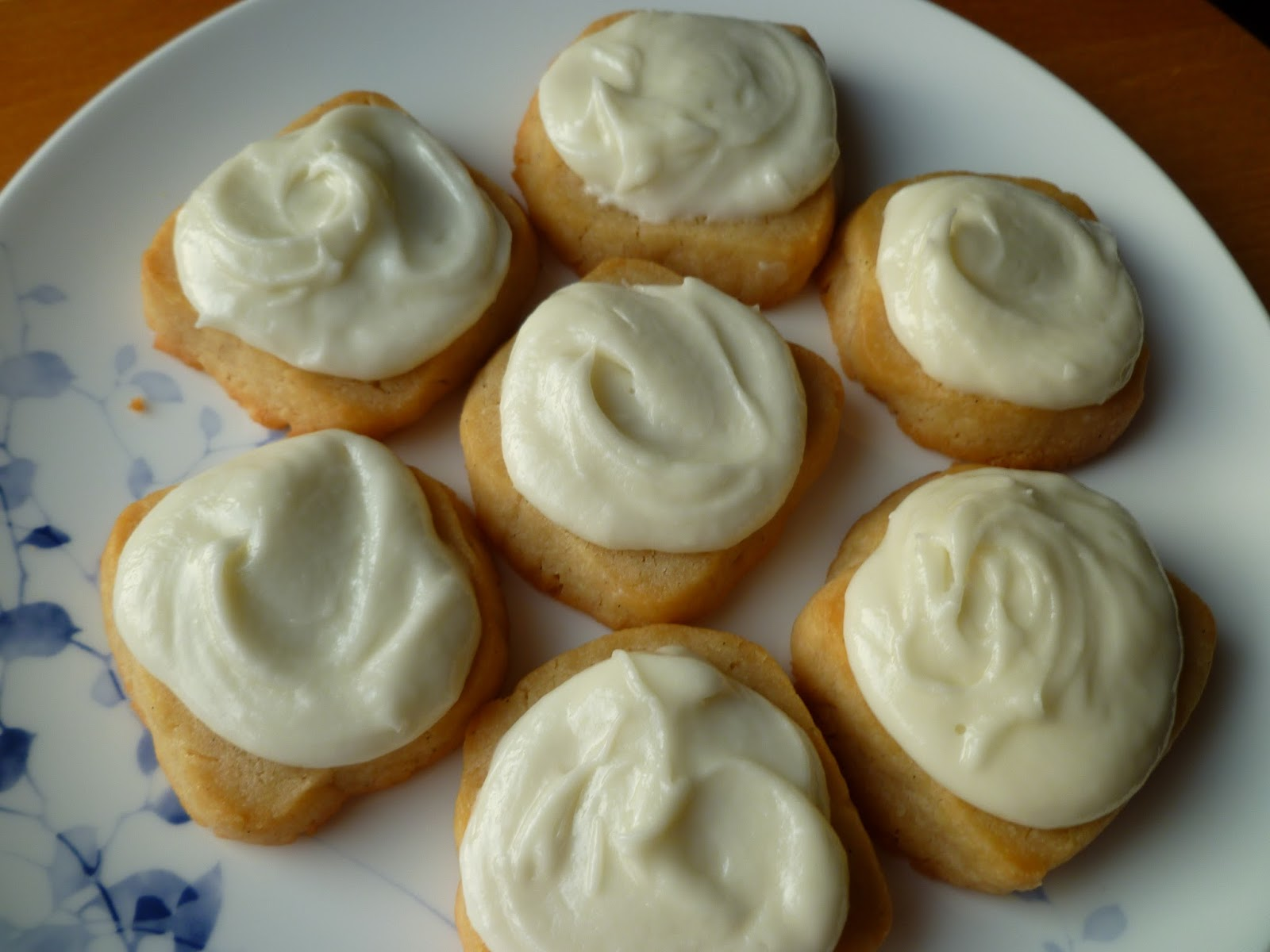 Cream Cheese Cookies - made dough July 22, 2013, recipe adapted from ...