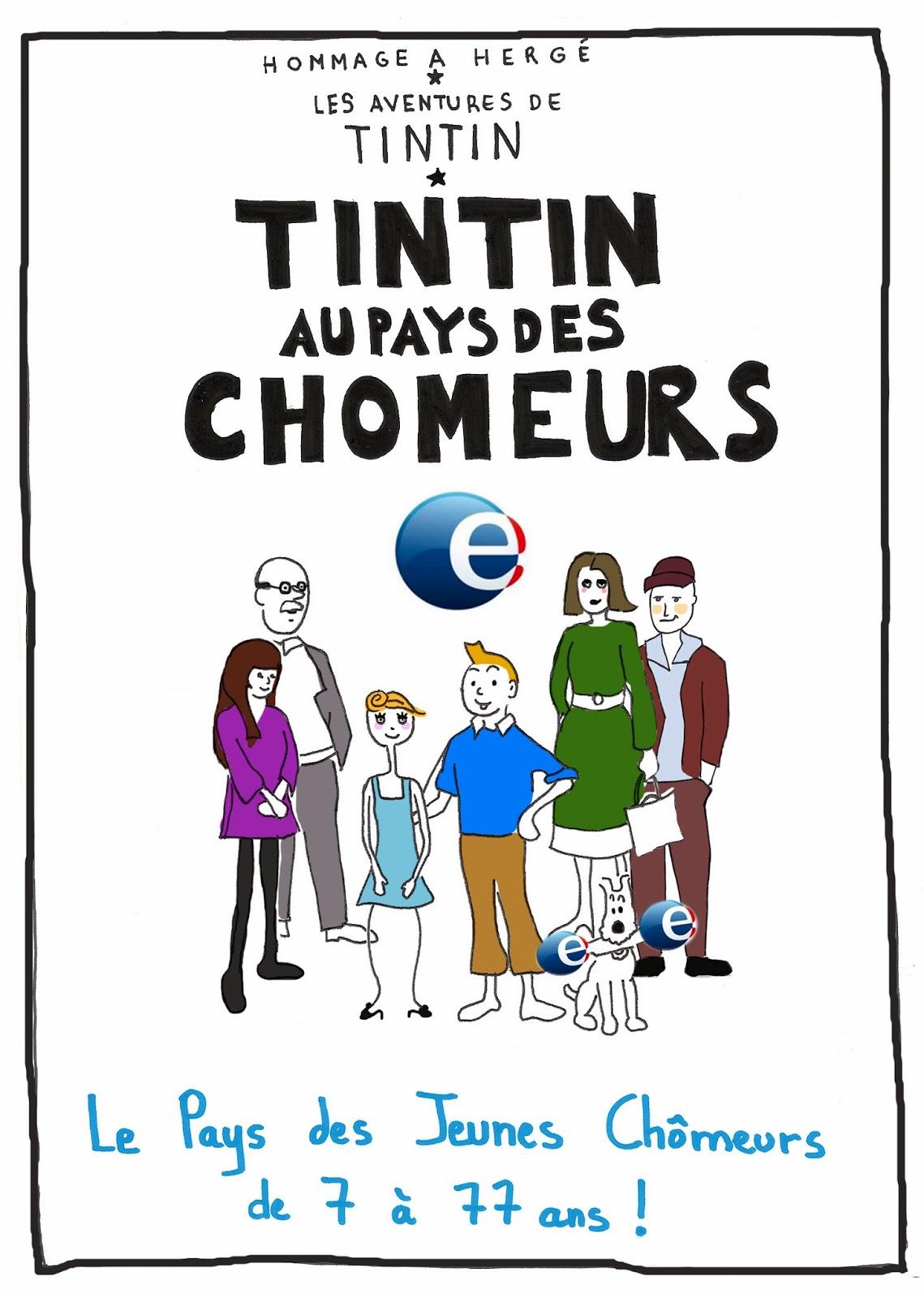 Tintin BD, Chômeurs, de 7 à 77 ans