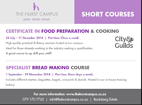 Click on the ad for The Hurst Campus Short Courses