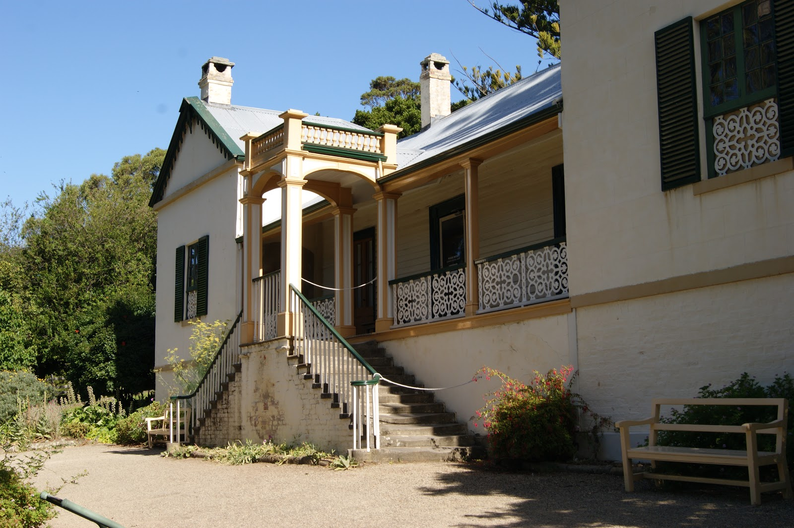 On the convict trail the commandants house port arthur main text information sources malvernweather Choice Image