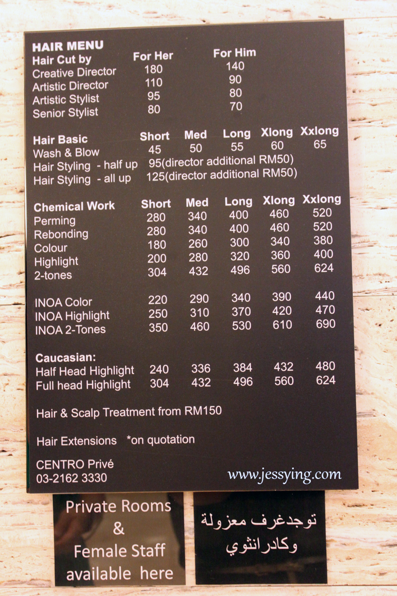 Clarins Spa Price List
