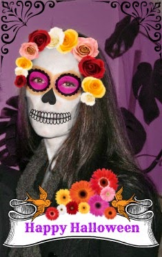 dia de muertos, day of the dead, photo app, photo editor, free, online, effects, filters, scrapbooking