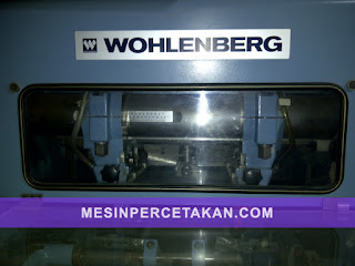 3 Knife Trimmer | Wohlenberg 44 FM 50