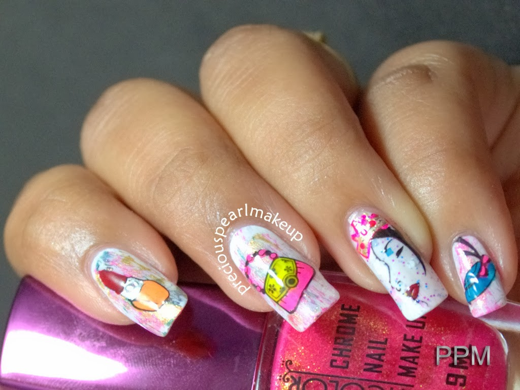 preciouspearlmakeup: Women\'s Day Nail Art