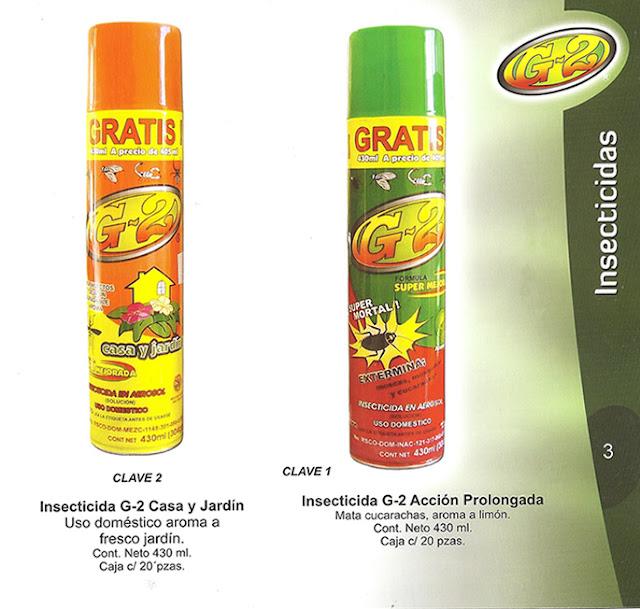 Insecticidas g 2 casa y jard n acci n prolongada for Beneficios del insecticida casa jardin