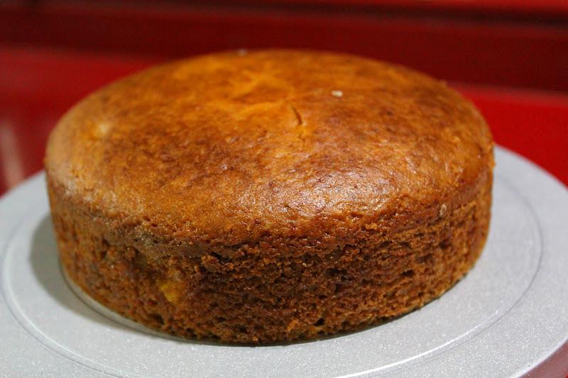 Mango Cake With Truffle Ribbons To Pastas
